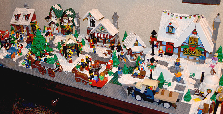 Lego Winter Village