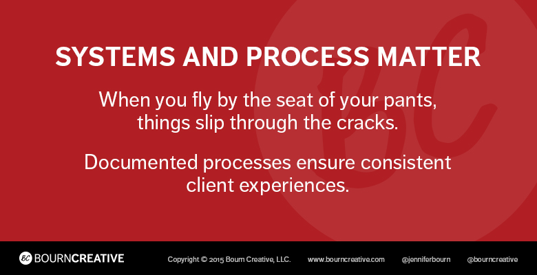 Why Systems and Processes are Important