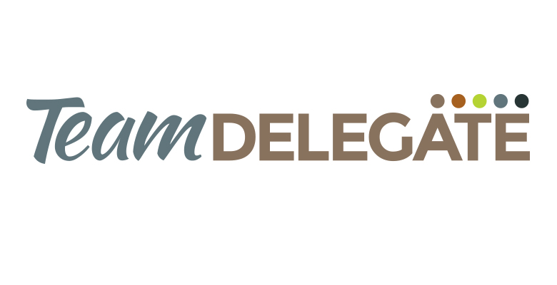 Team Delegate Logo Design and Brand Style Guide